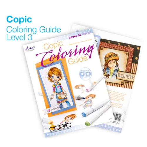 Copic Coloring Guide - Level 3