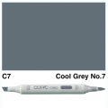 Ciao Marker C7 Cool Grey 7