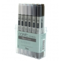 Ciao Marker Set 12 Greys