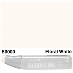 Various Ink E0000 Floral White