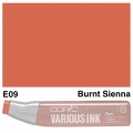 Various Ink E09 Burnt Sienna