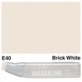 Various Ink E40 Brick White