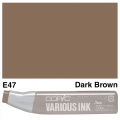 Various Ink E47 Dark Brown