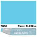 Various Ink FBG2 Fluorescent Dull Blue Green