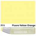 Various Ink FY1 Fluorescent Yellow Orange