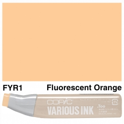Various Ink FYR1 Fluorescent Orange