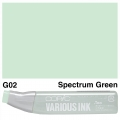 Various Ink G02 Spectrum Green
