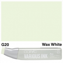 Various Ink G20 Wax White