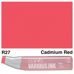 Various Ink R27 Cadmium Red