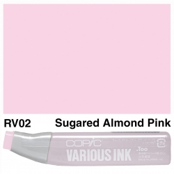 Various Ink RV02 Sugared Almond Pink