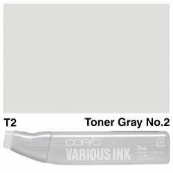 Various Ink T2 Toner Grey 2