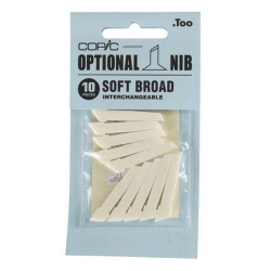 Classic Nibs - Soft Broad (10 Pack)