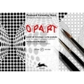 Pepin Postcard Colouring Book - OpArt