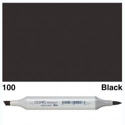 Sketch Marker Black 100