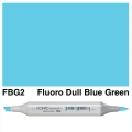 Sketch Marker FBG2 Fluorescent Dull Blue Green