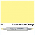 Sketch Marker FY1 Fluorescent Yellow Orange