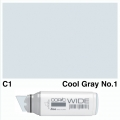 Wide Marker C1 Cool Grey 1