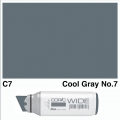 Wide Marker C7 Cool Grey 7