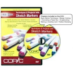 Copic DVD - Techniques and projects with Sketch Markers